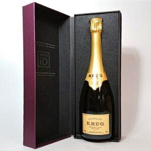 クリュッグ グラン キュヴェ 750ml 化粧箱入り/泡/シャンパン/シャンパーニュ/スパークリングワイン/フランスワイン/おせいぼ/御歳暮/ギフトボックス入り/プレゼント/ 贈答/クリスマス/パー