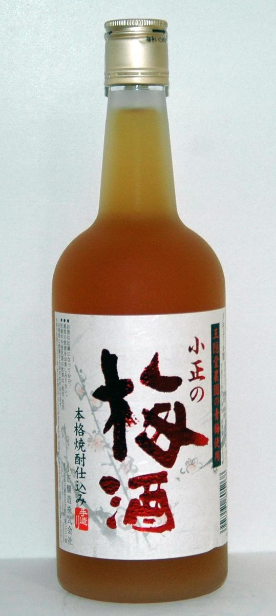 小正の梅酒 720ml