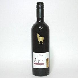 【超得ワイン】3本より出荷!チリワイン 『アルパカ』 (赤)カベルネ・メルロー /