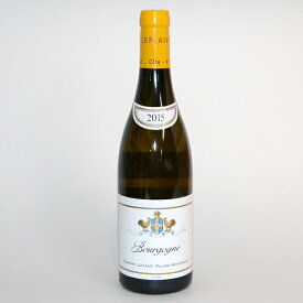 ブルゴーニュ ブラン [2015] 750ml【ドメーヌ ルフレーヴ】/フランスワイン/白ワイン/ブルゴーニュワイン/ルフレーブ