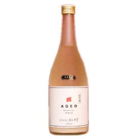 日本酒応援団 AGEO 純米吟醸 SNOW 無ろ過生原酒 720ml