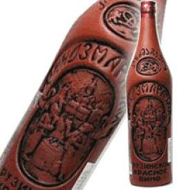 グルジア(ジョージア)ワイン キンズマラウリ陶器ボトル 750ml/朝日新聞 / 父の日