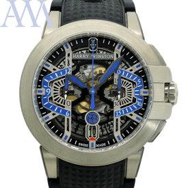 【HARRY WINSTON ハリーウインストン】 プロジェクトZ9 OCEACH44ZZ004 ザリウム メンズ 腕時計 世界限定300本【美品中古】
