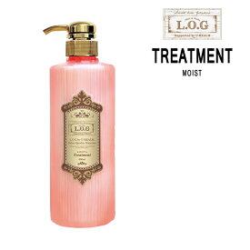 【あす楽】L.O.G byU-REALM モイスト トリートメント ボトル <600ml>サロンクオリティーヘアケア ログバイユーレルム