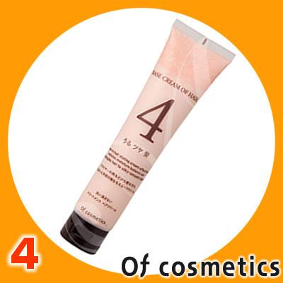 オブコスメティックス ベースクリーム オブ ヘア・4 <115g> of cosmetics スタイリング ヘアクリーム
