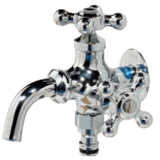 "Faucet twin top ""Silver"""