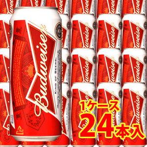 バドワイザー 500ml缶(24缶入)【お取寄せ品 発送までに10日程かかります】
