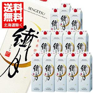 繊月パック 純米焼酎 1.8L×12本(景品付き)