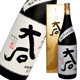 大石 特別限定酒 箱入 琥珀熟成 1800ml
