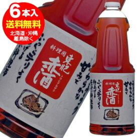 東肥 赤酒 料理用 ペットボトル1.8L×6本