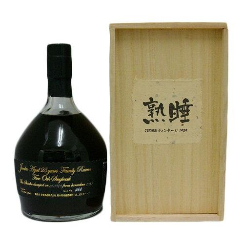 <超限定 不定期発売100本>熟睡JORAKUヴィンテージ1989 720ml