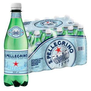 サンペレグリノ500ml×24本 ペットボトル(1ケース毎送料がかかります)