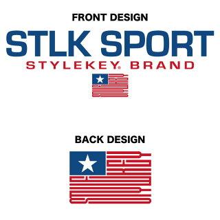 STYLEKEYスタイルキー半袖スウェットパーカーSTLKSPORTS/SHOODSWEAT(SK17SP-SWH01)プルオーバーパーカーフードスウェットフーディーサマースウェットロゴダンスメンズファッションヒップホップB系ストリート系通販