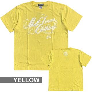 MELTDOWN(メルトダウン)TシャツVITAMINSCRIPTS/STEE(MD18SS-SS03)メンズファッションヒップホップダンスB系ストリート系スクリプトロゴビタミンカラーカラフルラインストーンジルコニア大きいサイズ3XL