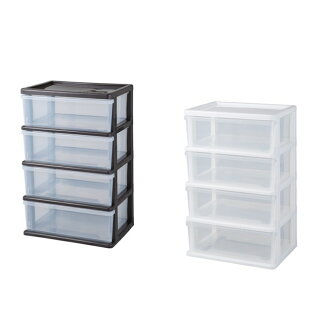 Four Steps Of Seeds Wide Chests Storing Box Drawer Storage Case Plastic Closet Clothing