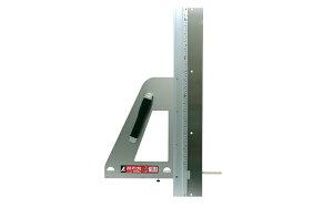 シンワ測定 エルアングル補助板付 60cm併用目盛付 77883 丸ノコガイド定規