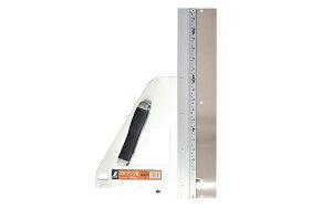 シンワ測定 エルアングル補助板付 45cm併用目盛付 77899 丸ノコガイド定規