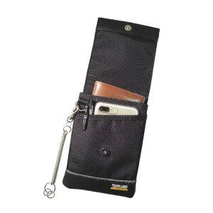 FAB-98 薄型小物ケース(作業 ウエストポーチ おしゃれ 腰袋 小物入れ ツールポーチ ポーチ ベルト スマホポーチ メンズ 工具差し 携帯電話 フック スマホ カラビナ 携帯ケース ベルト通し 携帯