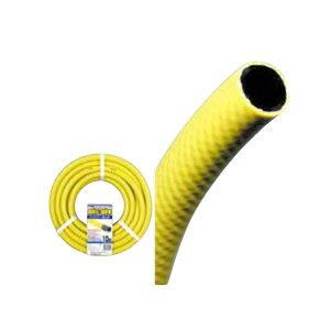 散水ホース 耐圧ハイパーネットホースドラム巻 イエロー 15×20-50m(散水/ホース ガーデニング/ガーデニング ホース/散水ホース/コイル巻き/耐寒ホース/耐圧ホース)