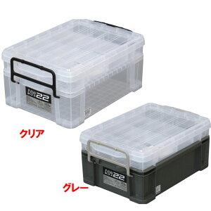 NWボックス #22(工具箱 ツールボックス プラスチック 道具箱 ボックス 収納 コンテナボックス 工具 道具 ツール 収納ボックス 道具入れ 工具入れ 工具ボックス おしゃれ コンテナ 工具ケース