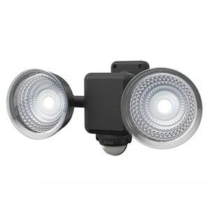 1.3W×2灯 フリーアーム式LED乾電池センサーライト LED-225( 屋外 階段 玄関 照明 防犯 常夜灯 人感センサーライト 廊下 自動点灯 屋外 防水 LED 自動消灯 可動 玄関ライト 昼白色 庭 ガレージ ガー