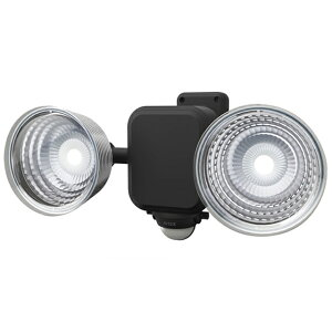 3.5W×2灯 フリーアーム式LED乾電池センサーライト LED-265(屋外 防水 LED  階段 人感センサーライト 玄関 照明 自動点灯 自動消灯 防犯 廊下 屋外 可動 玄関ライト 昼白色 常夜灯)