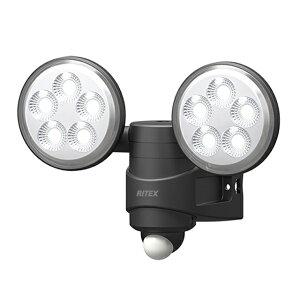 4.5W×2灯 LEDセンサーライト LED-AC208(屋外 防水 LED  階段 人感センサーライト 玄関 照明 自動点灯 自動消灯 防犯 廊下 屋外 可動 玄関ライト 昼白色 常夜灯)