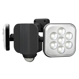 8W×2灯 LEDセンサーライト LED-AC2016(屋外 防水 LED  階段 人感センサーライト 玄関 照明 自動点灯 自動消灯 防犯 廊下 屋外 可動 玄関ライト 昼白色 常夜灯)