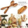 色拉服务器橄榄木材Arte Legno(aruterenyo)设计室内装饰