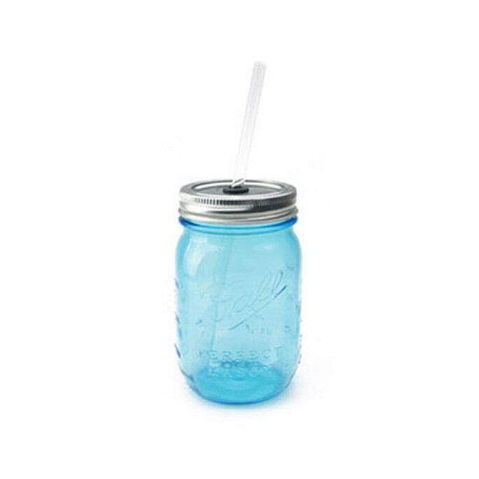 【P10倍】【あす楽対応】【Ball メイソンジャー】rednek sippers(レッドネック シッパー)2775CL・2775BL 全2色(clear・blue) /ボール Mason jar アメリカ Ball社 正規品 ガラス 保存ビン ドリンクボトル