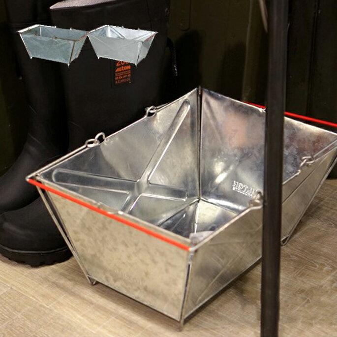 【P10倍】Tin market basket(ティン マーケットバスケット) 収納ボックス 112-280 DULTON(ダルトン) カラー(Antique-finish・Galvanized)