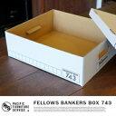 スタイリッシュでカッコいいボックス♪FELLOWS BANKERS BOX 743 BOX(フェローズ バンカーズボックス743 BOX) (FS74302/2...