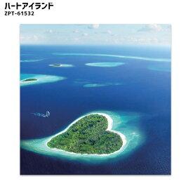 JIG キャンバスアート ハートアイランド Canvas Art Heart Island ZPT-61532 アート 絵画 カリフォルニア おしゃれ ヴィンテージ