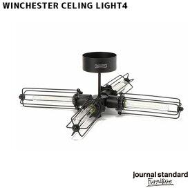 ジャーナルスタンダードファニチャー journal standard Furniture ウィンチェスターシーリングライト 4 WINCHESTER CEILING LIGHT 4 19017960000470 照明 ライト シーリングライト LED対応 カリフォルニア ヴィンテージ インダストリアル