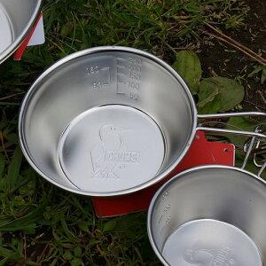 シェラカップ ブービーシェラカップ320ミリリットル Booby Sierra Cup 320ml チャムス CHUMS CH62-1635 食器 カップ ステンレス アウトドア ベランピング キャンプ 西海岸 バーベキュー 外ご飯 ソロキャ