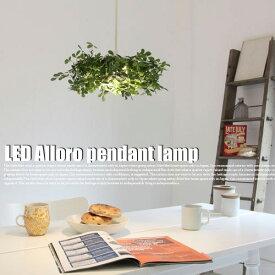 【送料無料】LED アローロ ペンダント ランプ LED pendant lamp Alloro ディクラッセ DI CLASSE LP3042GR 天井照明 照明 LED 省エネ グリーン 造花 ナチュラル