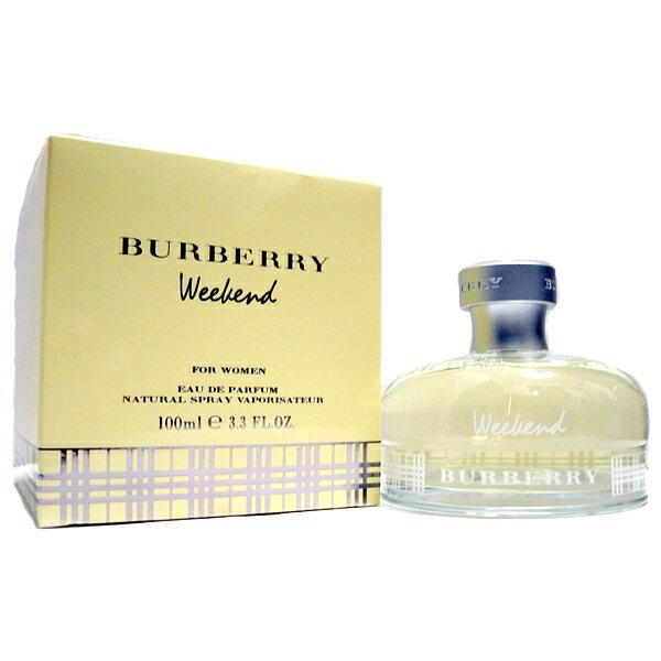 バーバリー BURBERRY ウィークエンド フォーウーマン 100ml EDP SP オードパルファムスプレー  香水