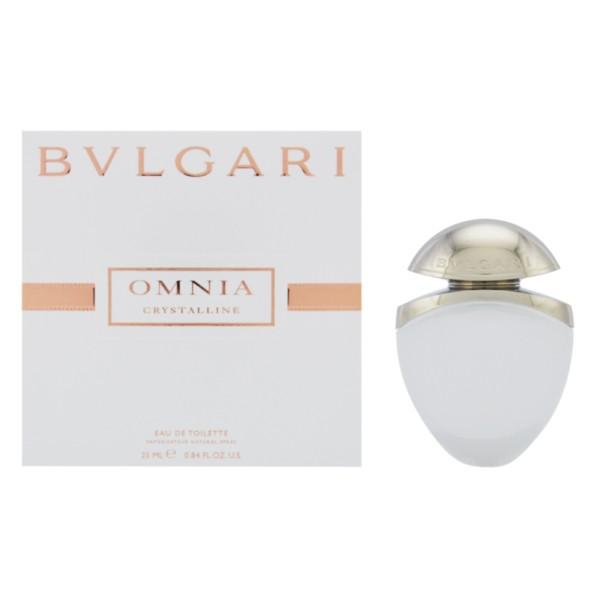 ブルガリ 【BVLGARI】 ジュエルチャームコレクションオムニアクリスタリン25ml EDT あすらく対応香水 レディース