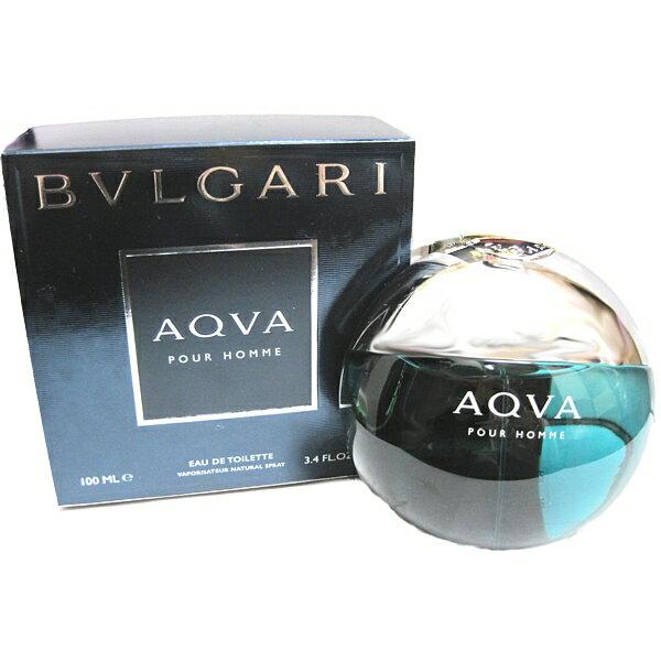 ブルガリ BVLGARI アクア プールオム オードトワレ スプレー EDT SP 100ml 男性用香水 【あす楽対応】