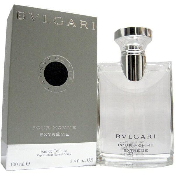 ブルガリ BVLGARI ブルガリ プールオム エクストレーム オードトワレ 100ml EDT スプレー 【送料無料】【あす楽対応】【香水 メンズ フレグランス】