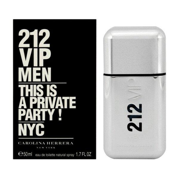 キャロライナヘレラ【CAROLINA HERRERA】212トゥーワントゥーVIPメン50ml EDT 【あす楽対応】 香水 メンズ