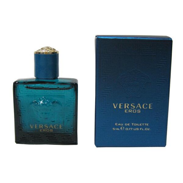 ヴェルサーチ エロス ミニボトル EDT 5ml ヴェルサーチ VERSACE【送料無料】 【あす楽対応】香水 メンズ