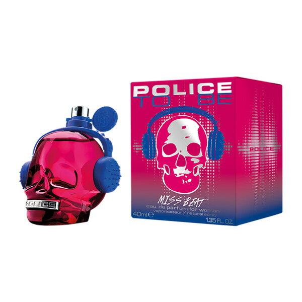 ポリス ● トゥービー ミスビート EDP スプレー 40ml ポリス POLICE【アウトレット★箱・ボトルに若干のきず】 香水 レディース フレグランス