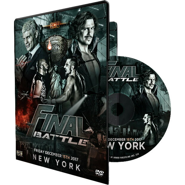 ROH Final Battle - New York NY 輸入DVD