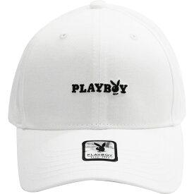 PLAYBOY/プレイボーイ ローキャップ/帽子 White