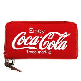 Coca-Cola/コカ・コーラ Coke スウェット財布 Red x White