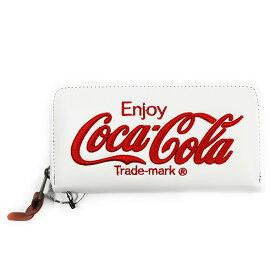 Coca-Cola/コカ・コーラ Coke PU財布 White