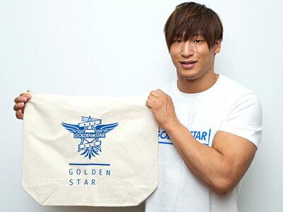 新日本プロレスNJPW飯伏幸太「G☆S」ラージトートバッグ
