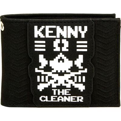 新日本プロレス/NJPWKennyOmega(ケニー・オメガ)TheCleaner二つ折り財布