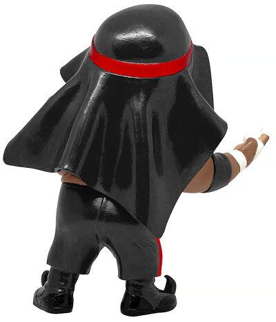 16dソフビコレクション007アブドーラ・ザ・ブッチャー黒コスチューム